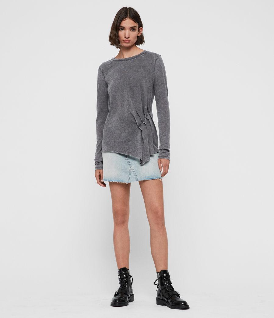 Women's Duma T-Shirt (coal_grey) - Image 2