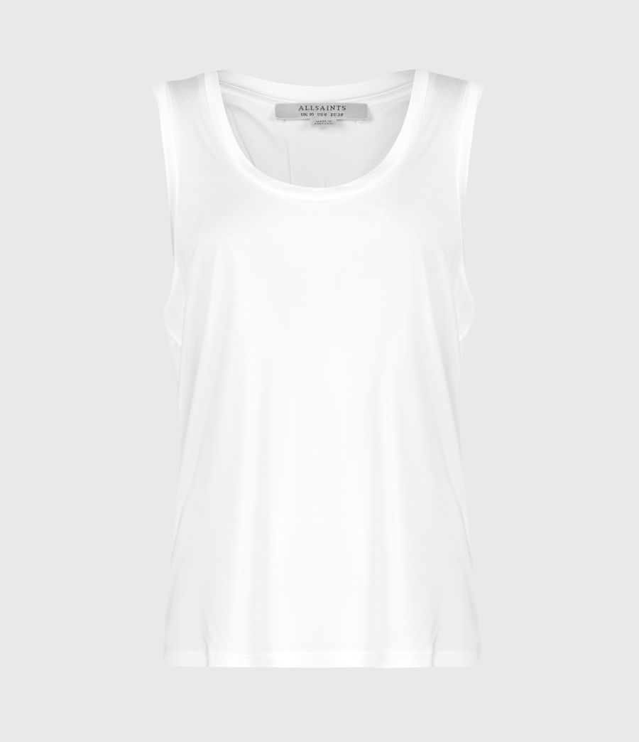 Womens Tessa Cami (optic_white) - Image 3