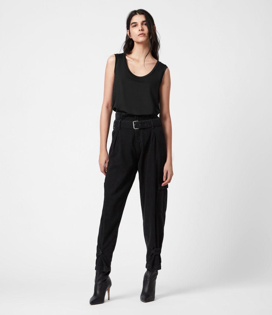 Women's Tessa Cami (black) - Image 7