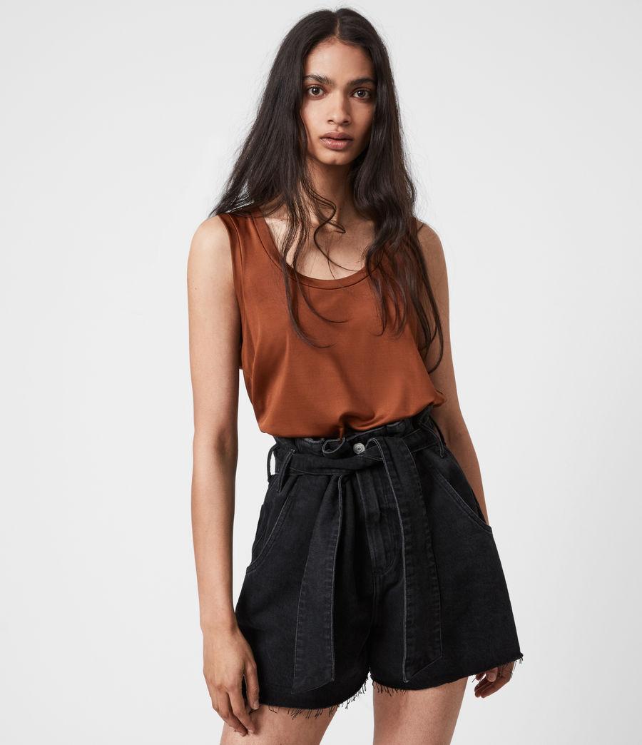 Women's Tessa Cami (foxtail_brown) - Image 1