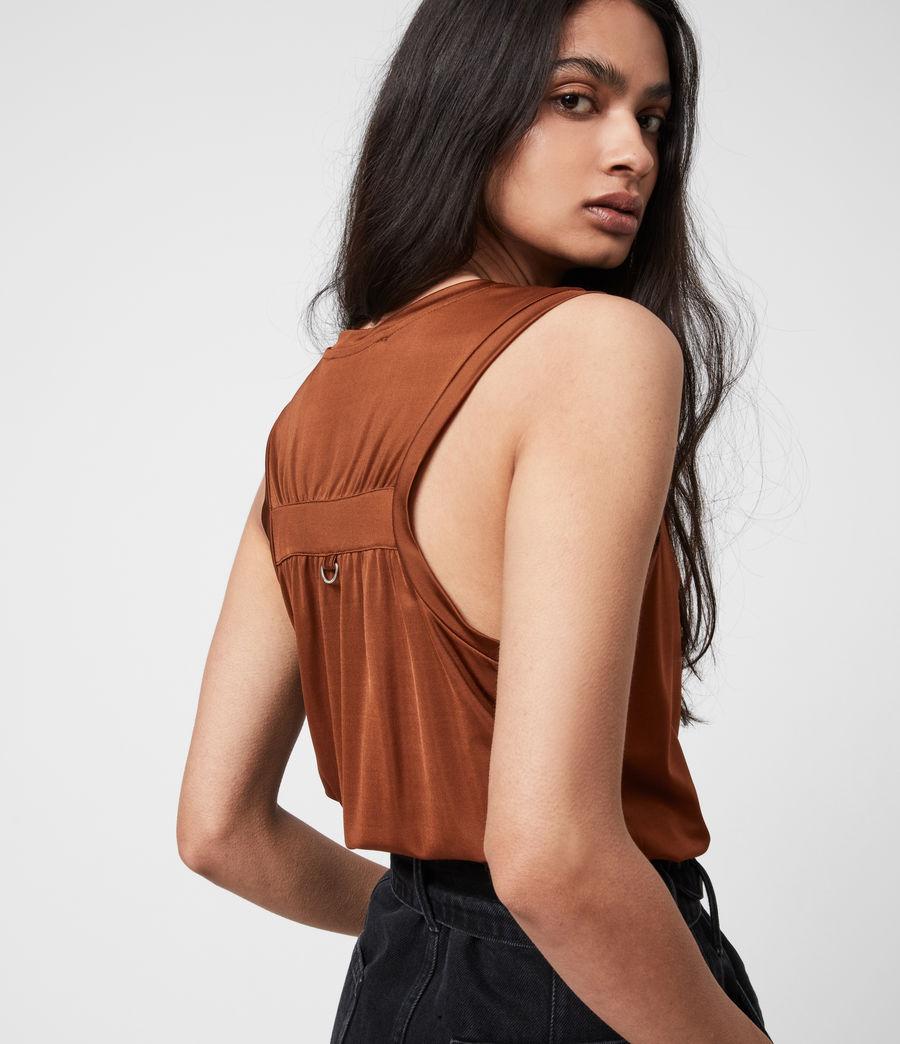 Women's Tessa Cami (foxtail_brown) - Image 7