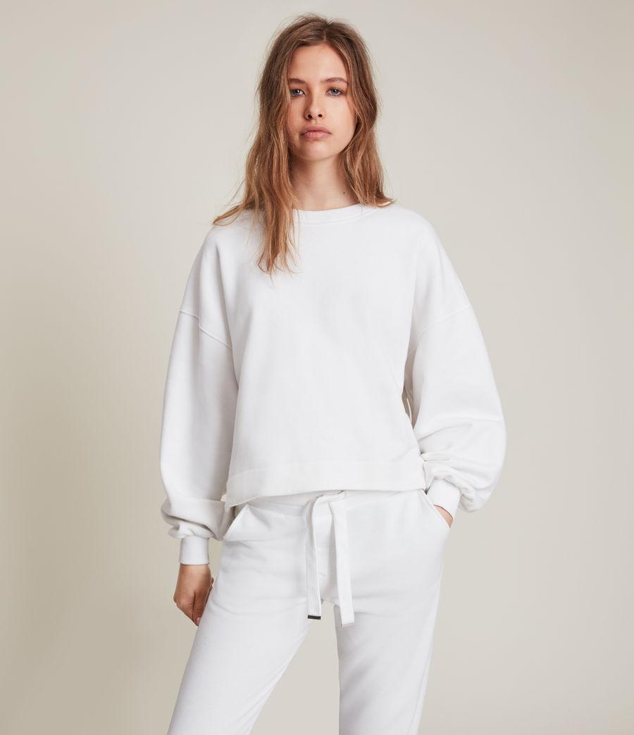 Womens Lila Sweatshirt (optic_white) - Image 1