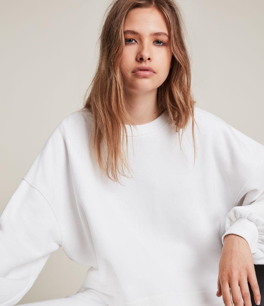 Womens Lila Sweatshirt (optic_white) - Image 2