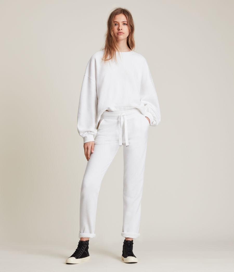 Womens Lila Sweatshirt (optic_white) - Image 3