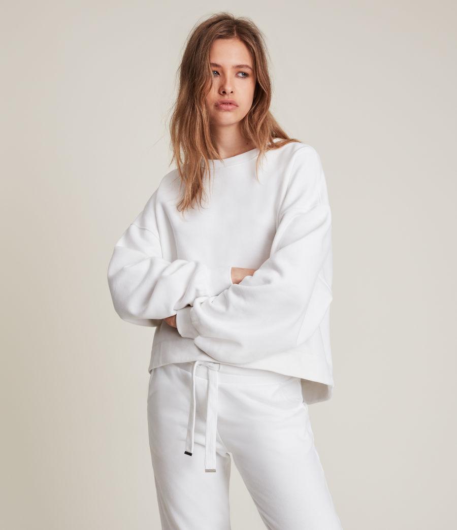 Womens Lila Sweatshirt (optic_white) - Image 4