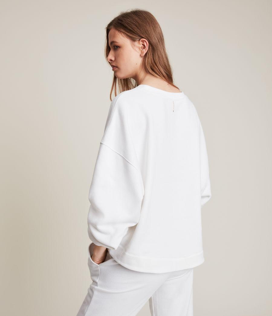 Womens Lila Sweatshirt (optic_white) - Image 5