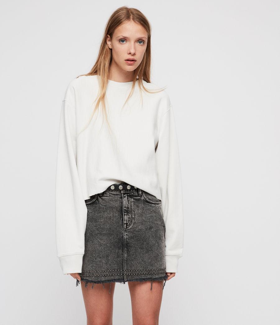 Womens Navarre Sweatshirt (ivory_white) - Image 1