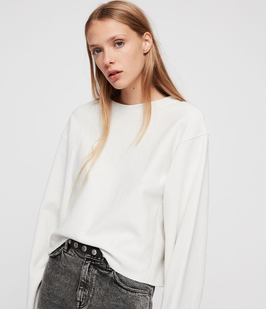 Womens Navarre Sweatshirt (ivory_white) - Image 3
