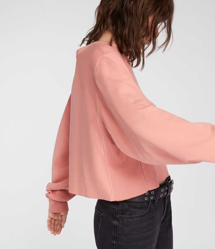 Womens Navarre Sweatshirt (peach_pink) - Image 1