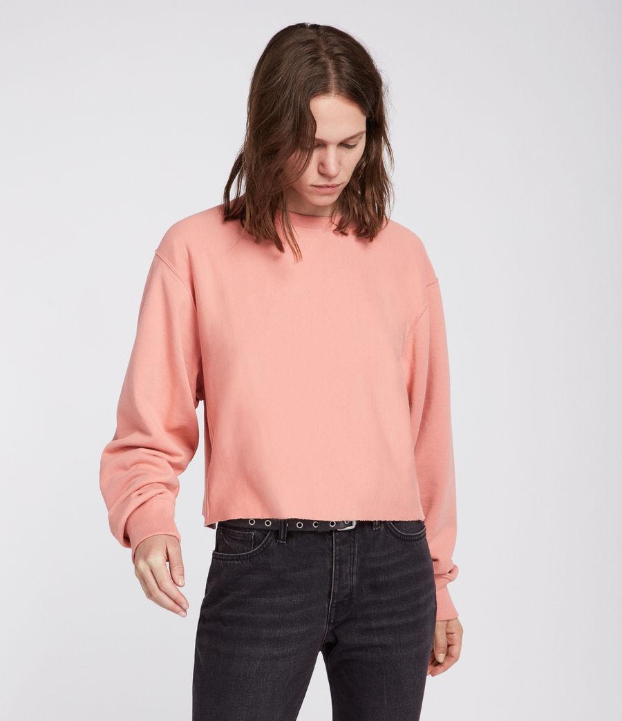 Womens Navarre Sweatshirt (peach_pink) - Image 2