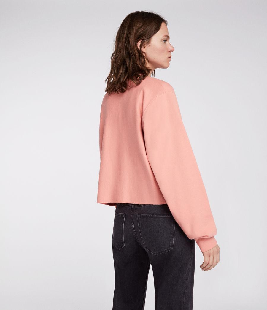 Womens Navarre Sweatshirt (peach_pink) - Image 3