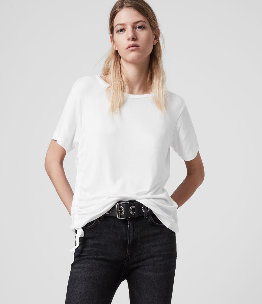 Womens Ryder Lux Short Sleeve T-Shirt (chalk_white) - Image 1
