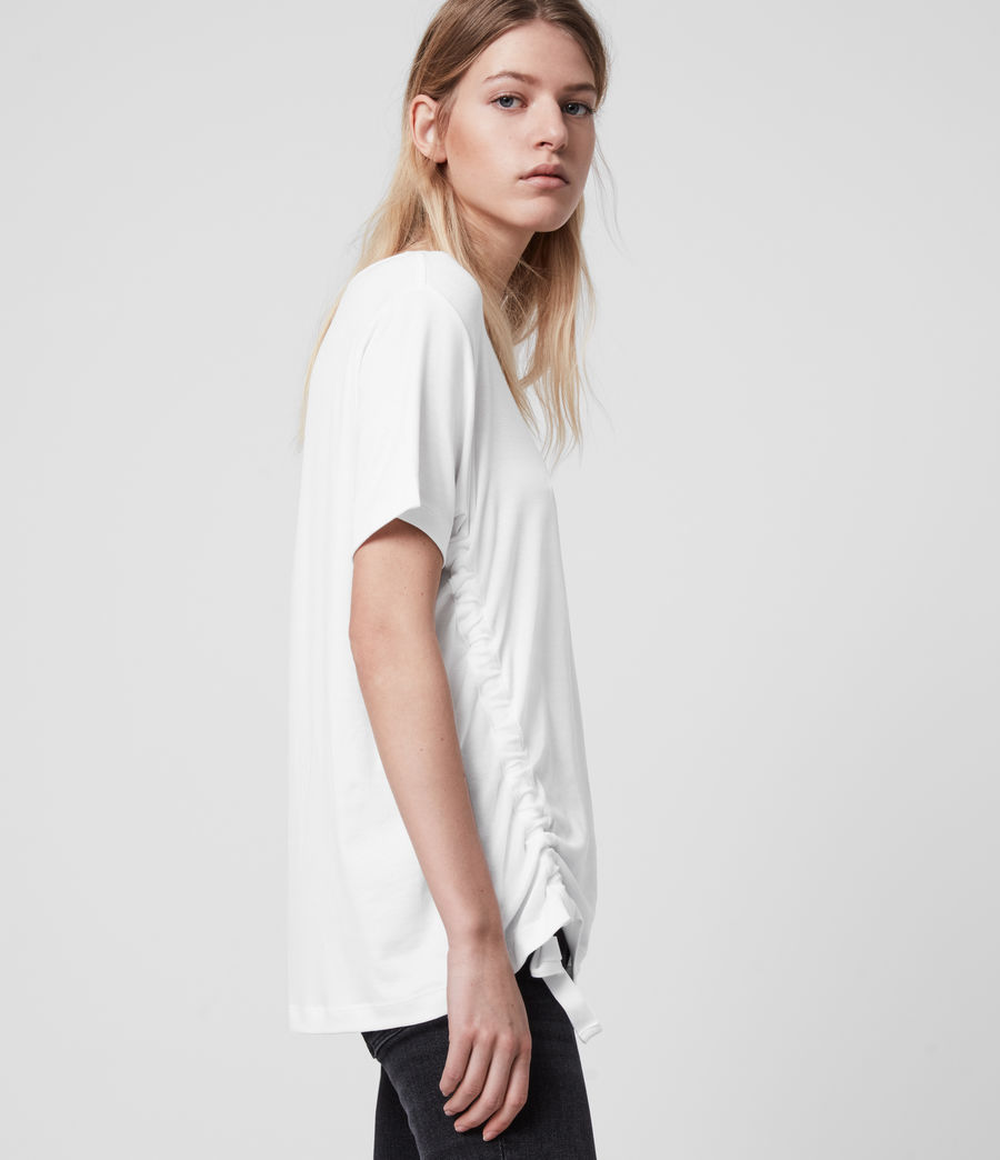 Womens Ryder Lux Short Sleeve T-Shirt (chalk_white) - Image 3
