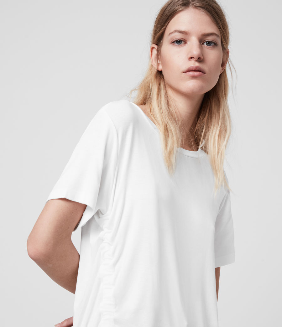 Womens Ryder Lux Short Sleeve T-Shirt (chalk_white) - Image 5