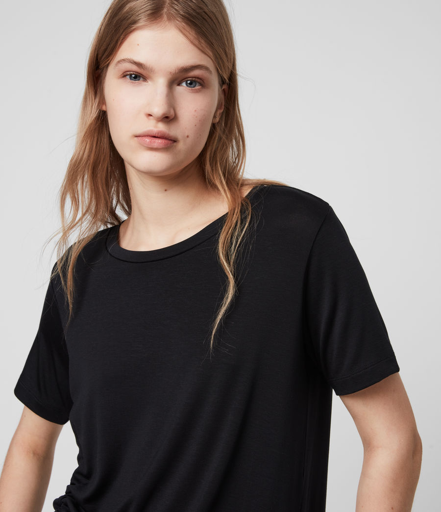 Womens Ryder Lux T-Shirt (black) - Image 2