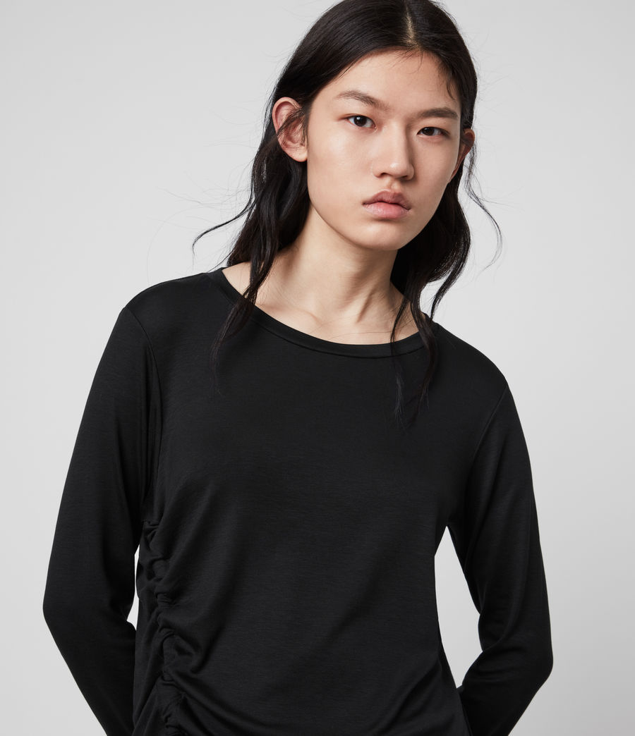 Mujer Ryder Lux Long Sleeve T-Shirt (black) - Image 2
