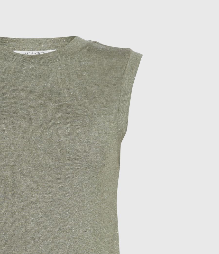 Femmes Imogen Shimmer Tank (khaki_green) - Image 5