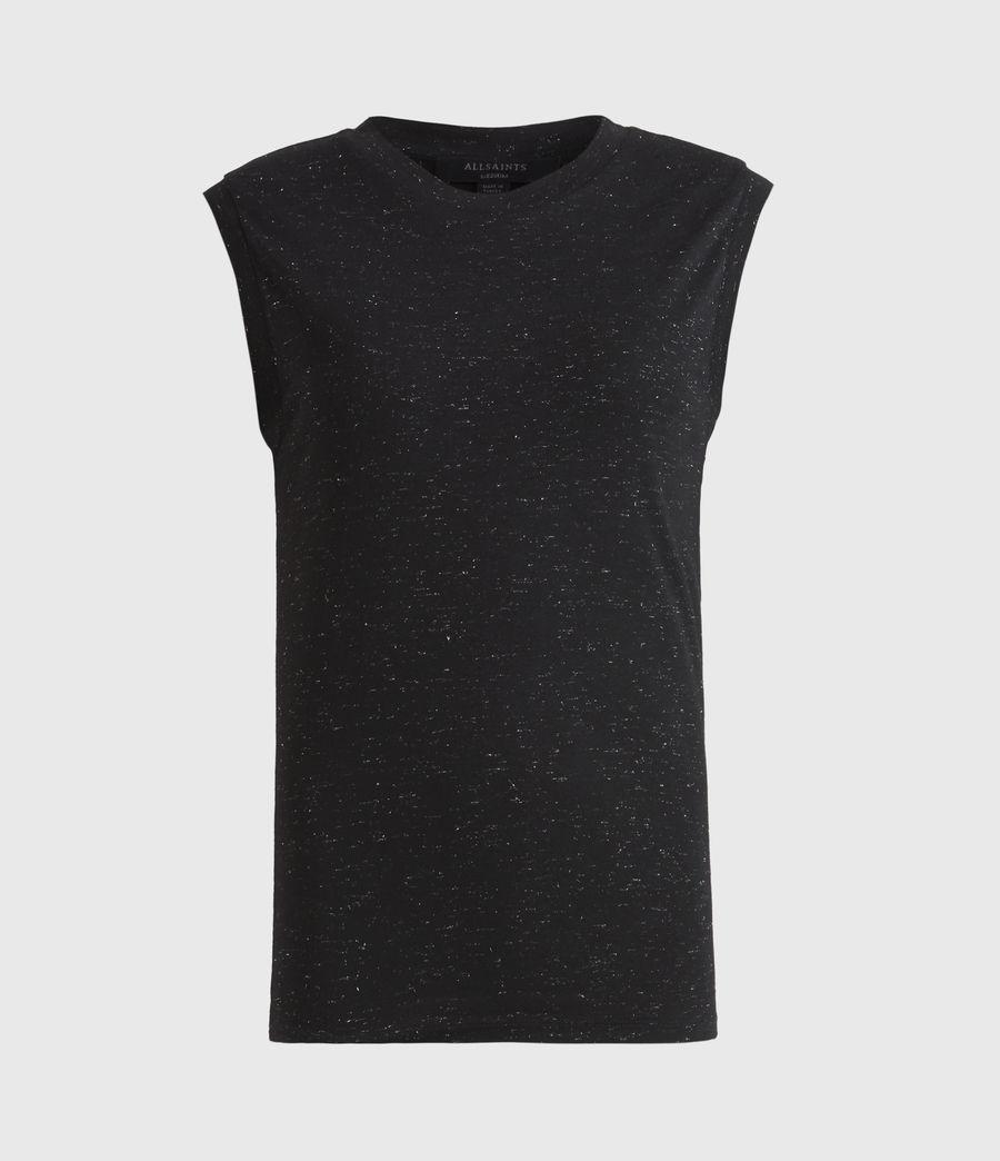 Women's Imogen Shimmer Tank (black) - Image 2