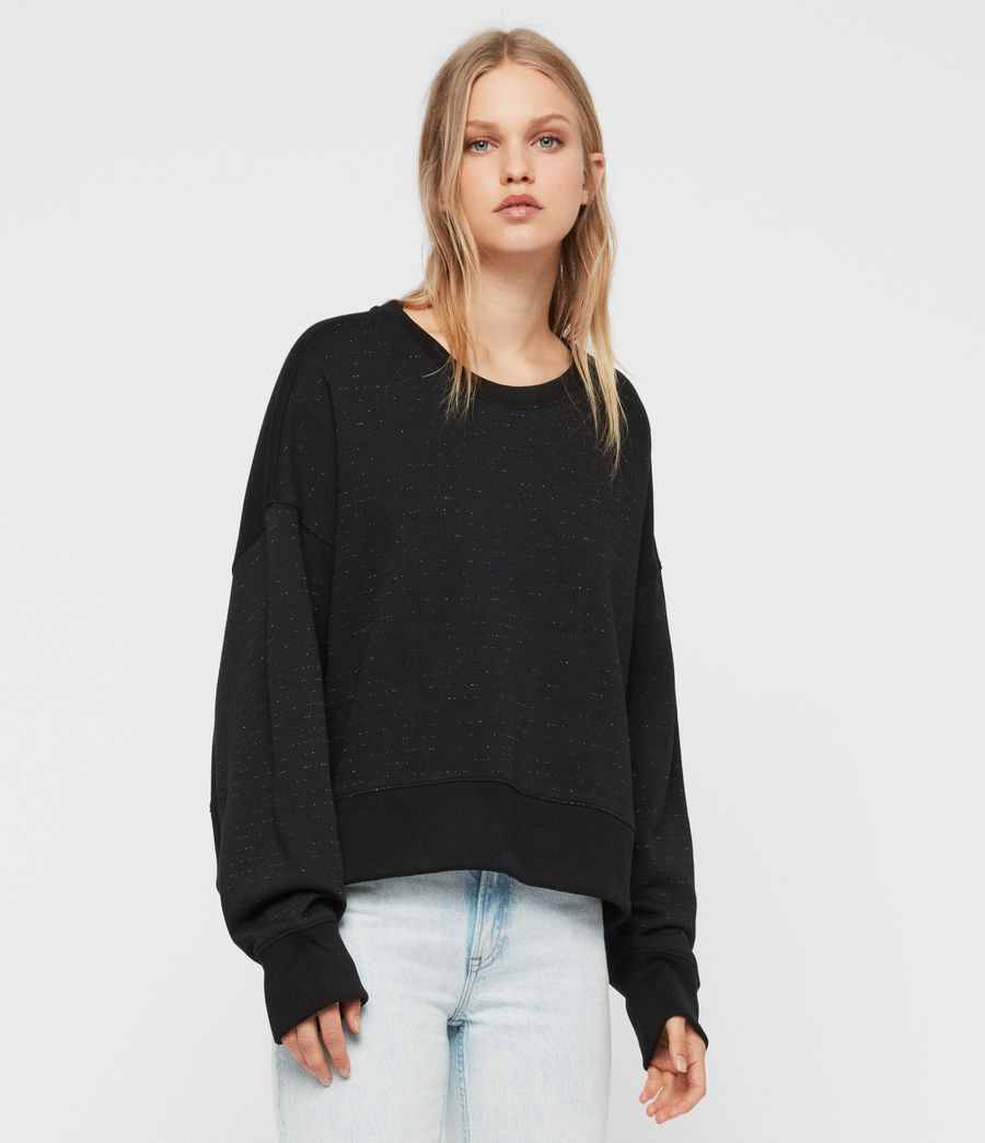 Damen Piro Schimmer Sweatshirt (copper_black) - Image 3