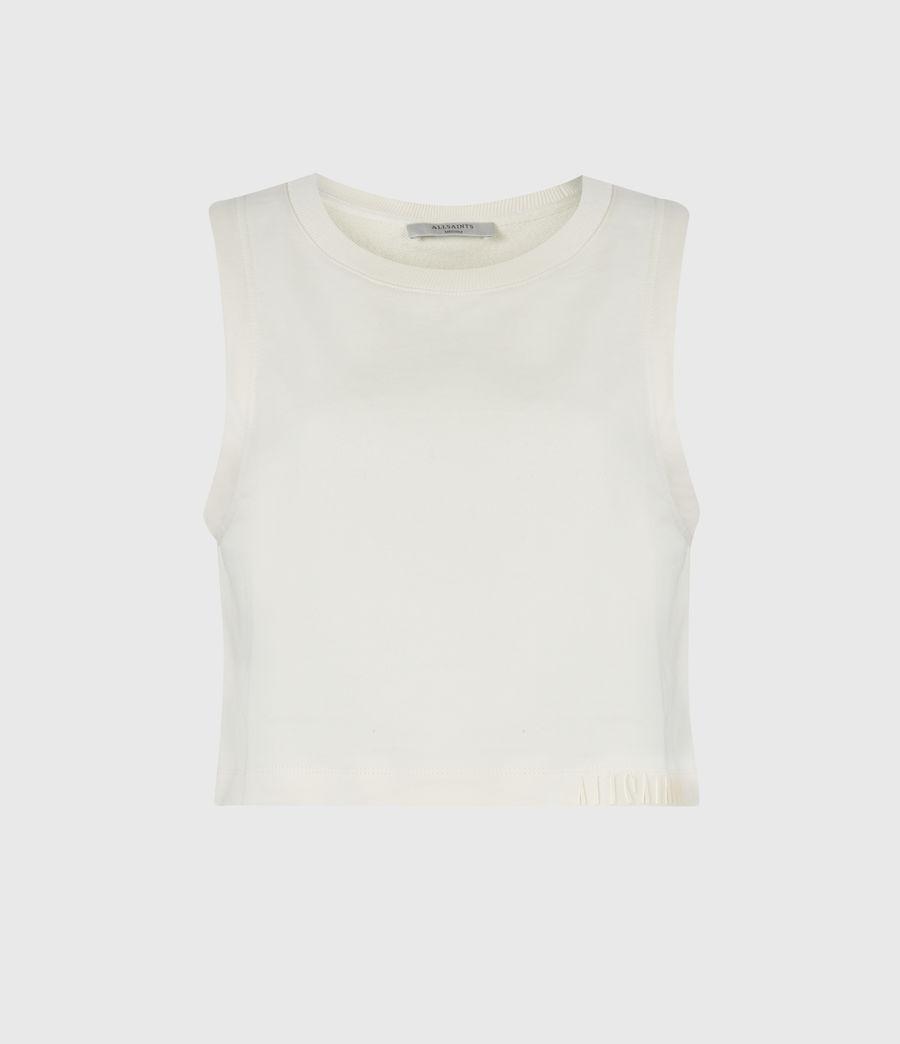 Women's Lila Crop Sweat Top (ecru_white) - Image 2