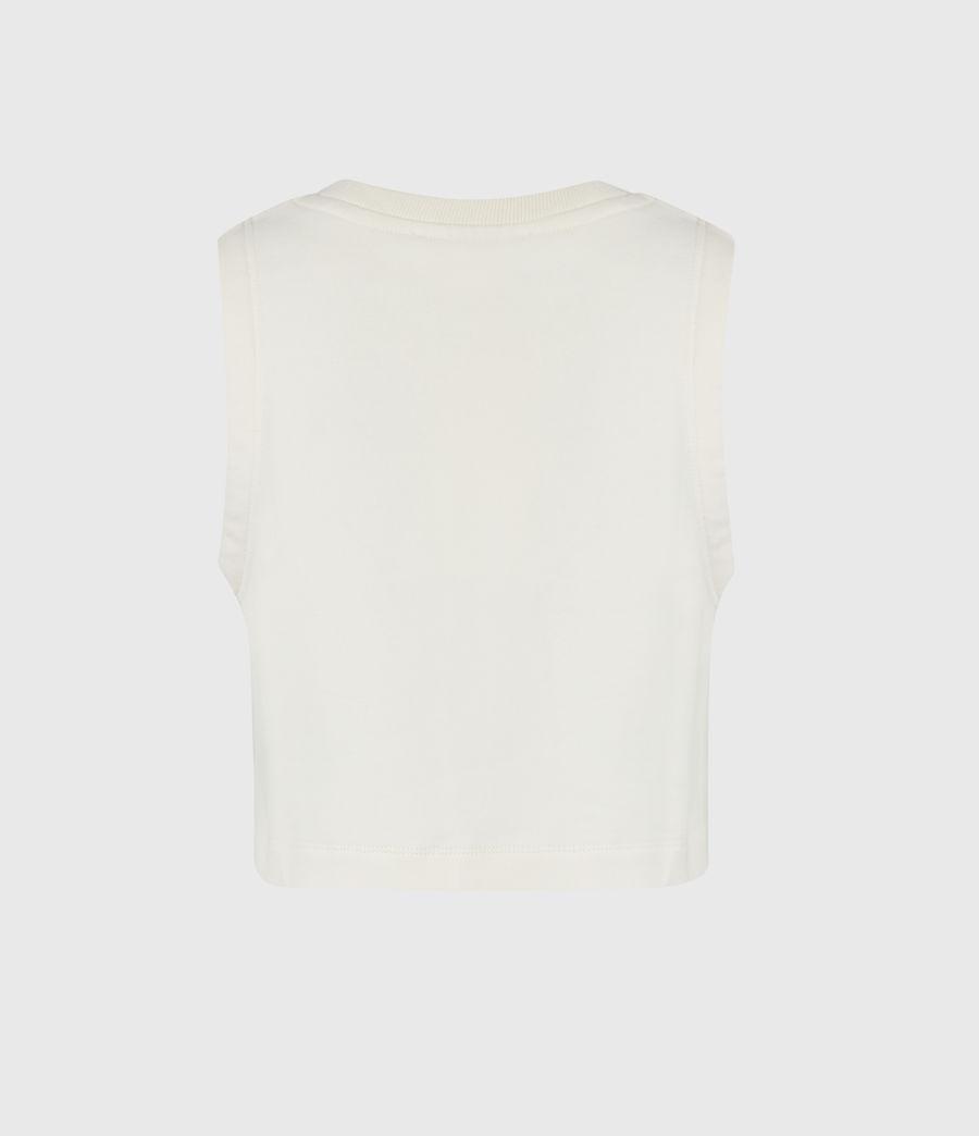 Women's Lila Crop Sweat Top (ecru_white) - Image 3