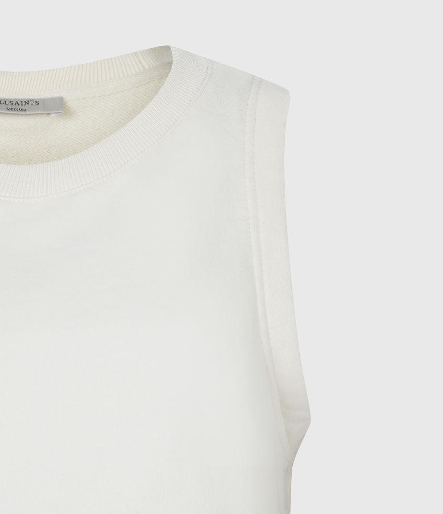 Women's Lila Crop Sweat Top (ecru_white) - Image 5