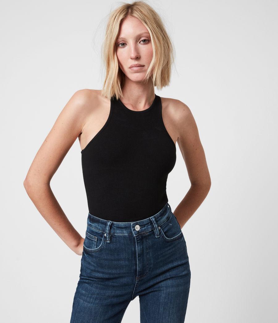Womens Jamie Bodysuit (black) - Image 4