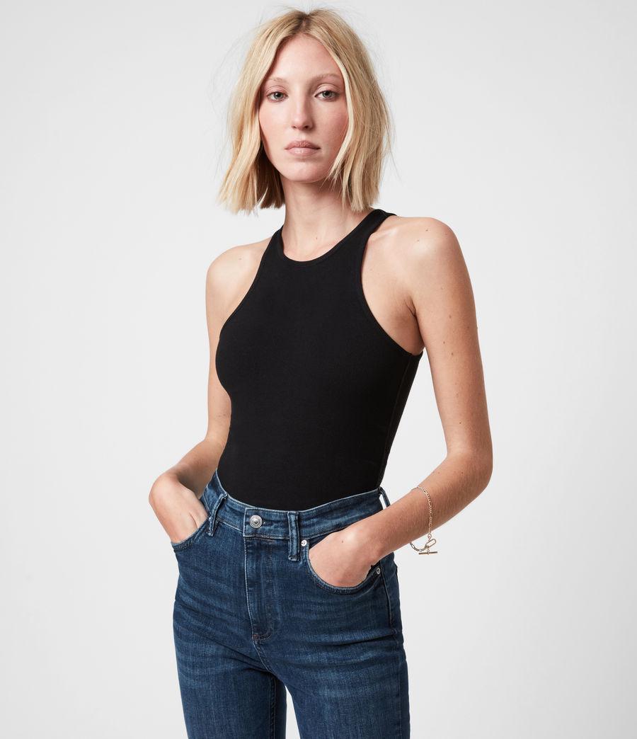 Womens Jamie Bodysuit (black) - Image 6