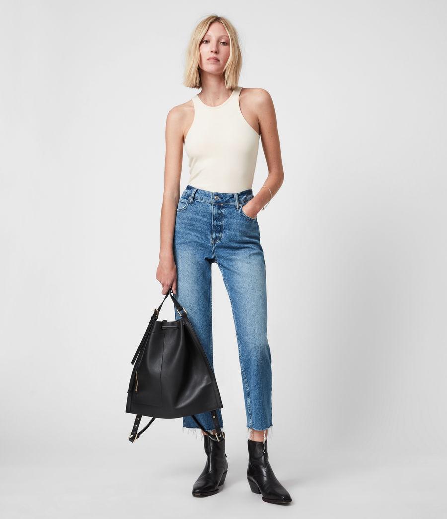 Womens Jamie Bodysuit (linnet_white) - Image 4