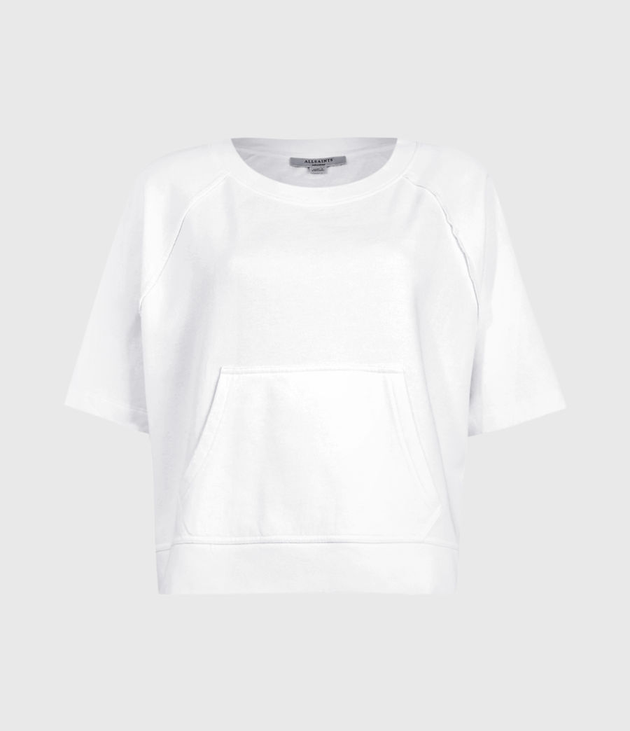 Donne Jessi Sweatshirt (optic_white) - Image 1