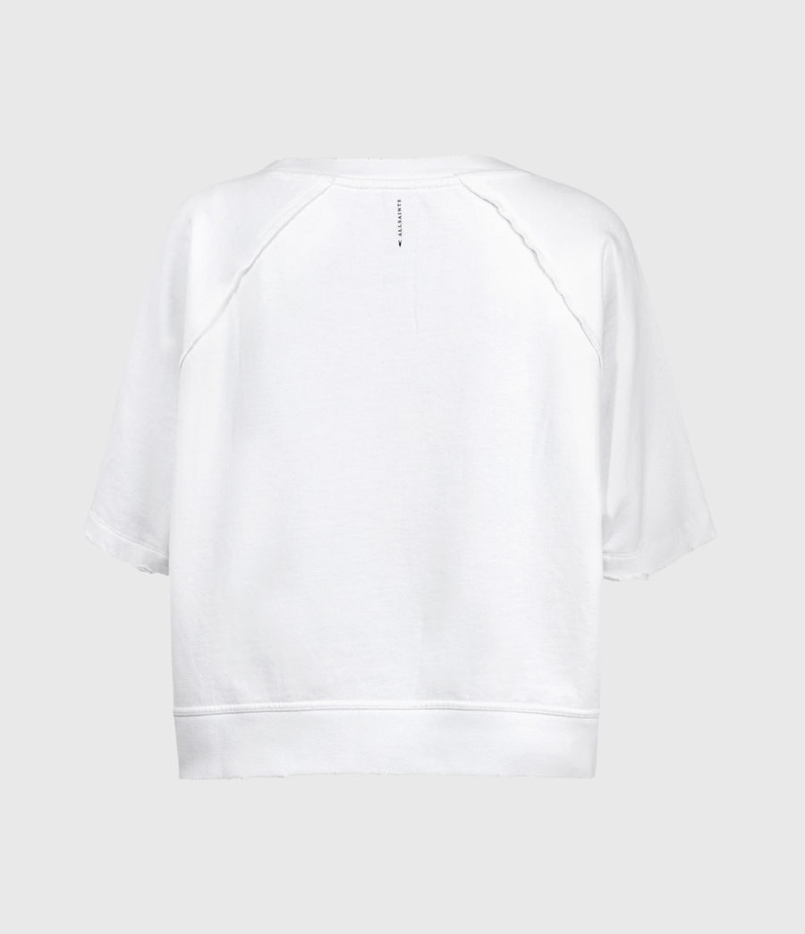 Donne Jessi Sweatshirt (optic_white) - Image 3