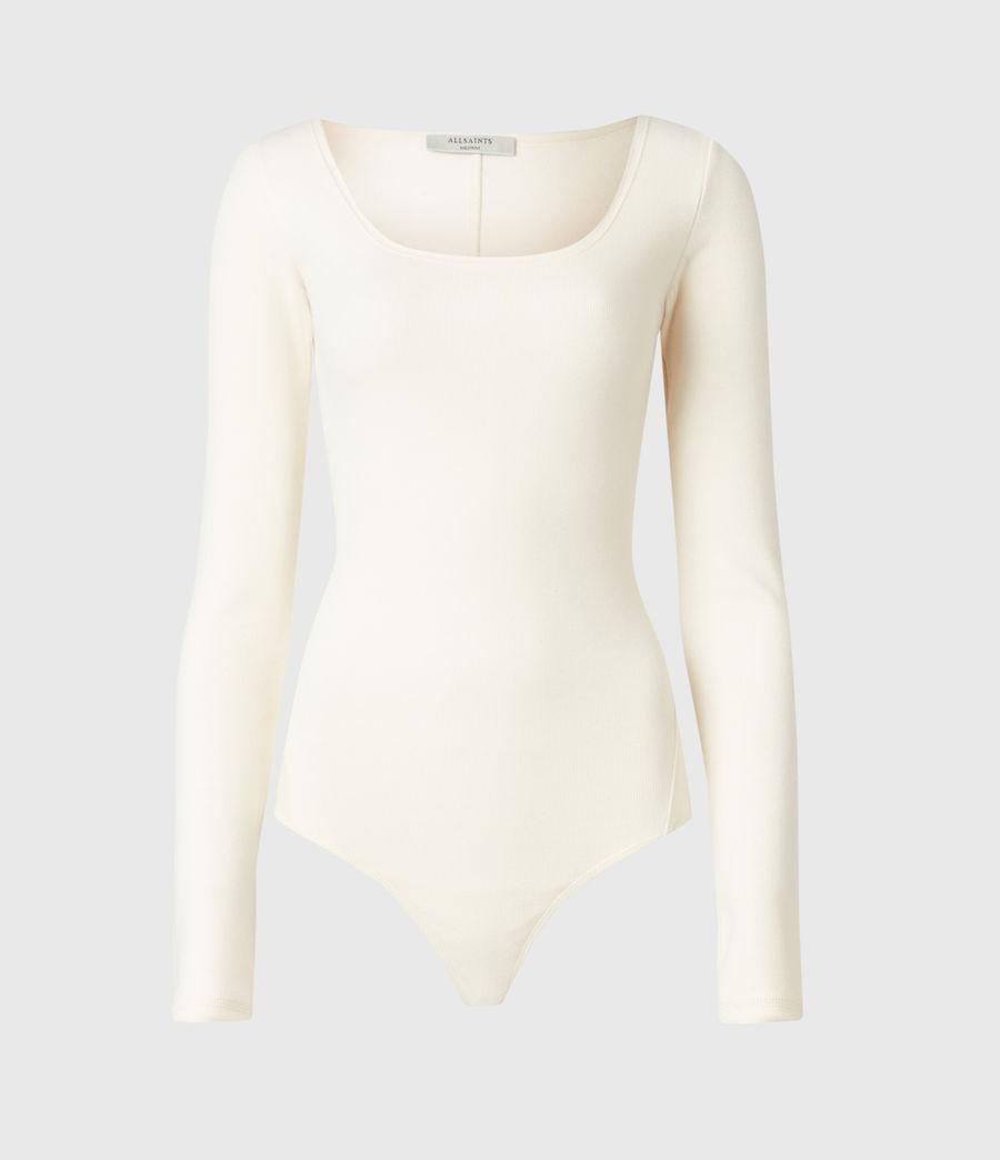 Damen Jamie Larngarm Bodysuit (linnet_white) - Image 2