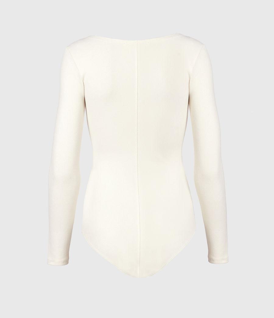 Damen Jamie Larngarm Bodysuit (linnet_white) - Image 3
