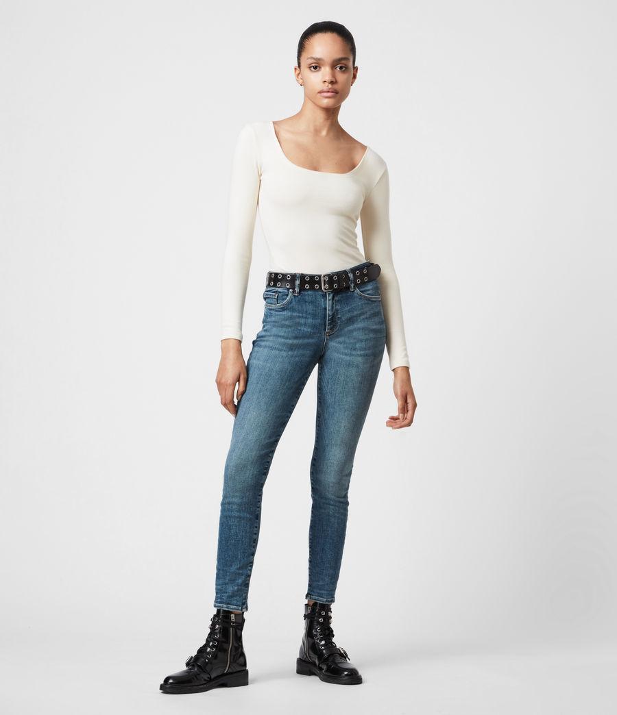 Damen Jamie Larngarm Bodysuit (linnet_white) - Image 4