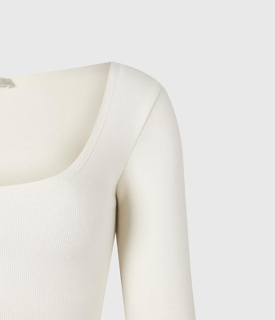 Damen Jamie Larngarm Bodysuit (linnet_white) - Image 5