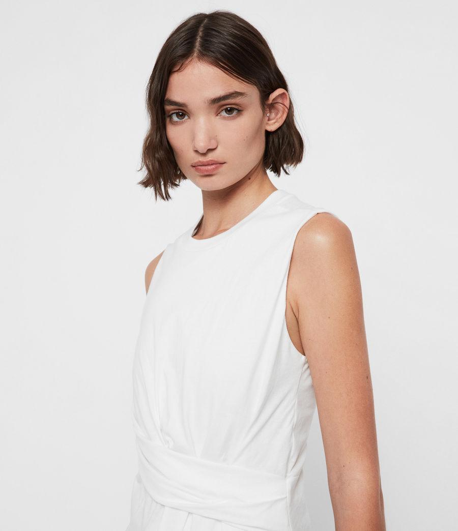 Mujer Camiseta sin Mangas Limera (chalk_white) - Image 2