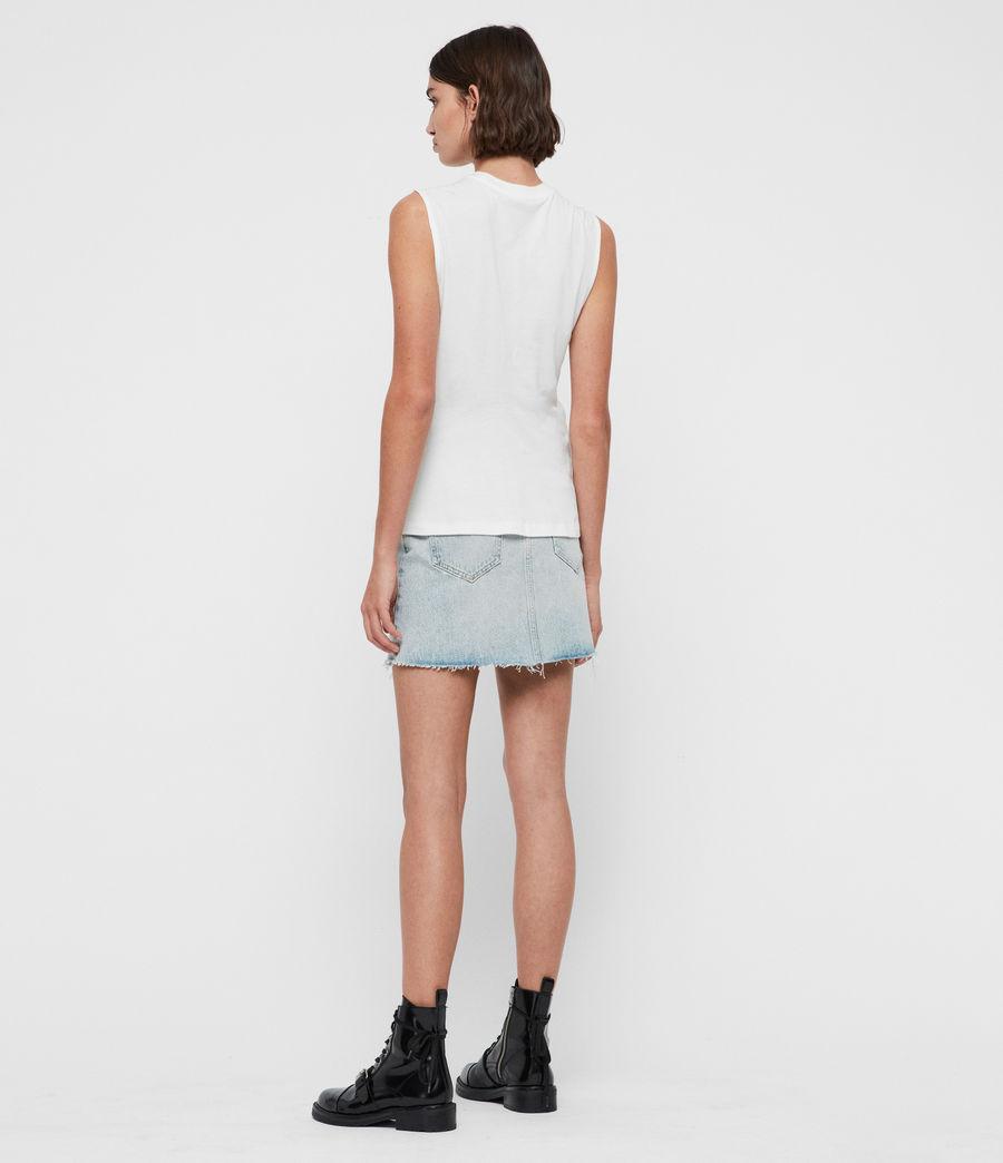 Mujer Camiseta sin Mangas Limera (chalk_white) - Image 5