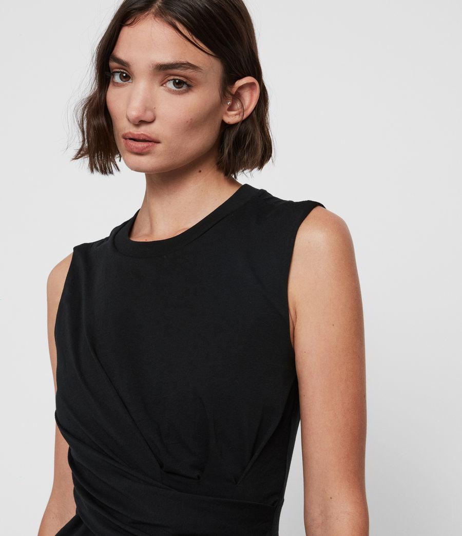 Mujer Camiseta sin Mangas Limera (black) - Image 2