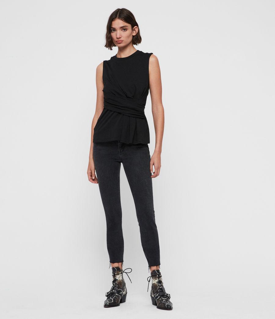 Mujer Camiseta sin Mangas Limera (black) - Image 3