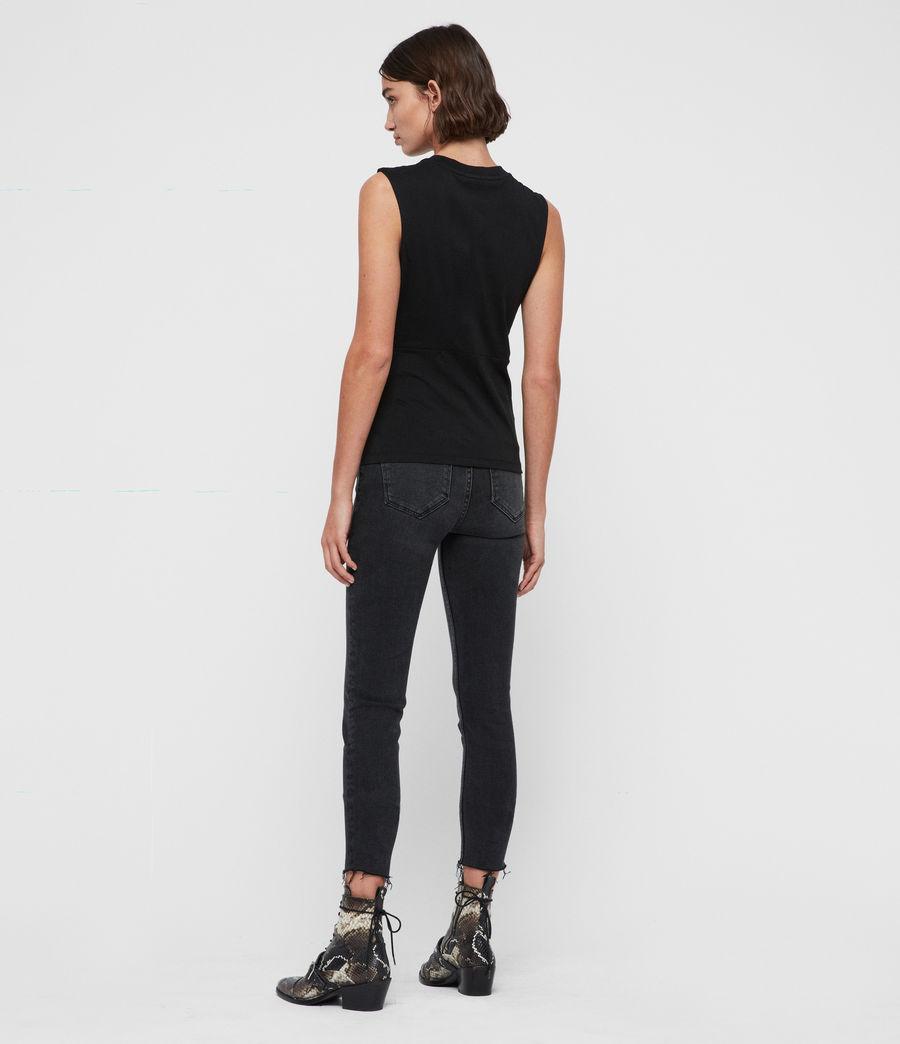 Mujer Camiseta sin Mangas Limera (black) - Image 4