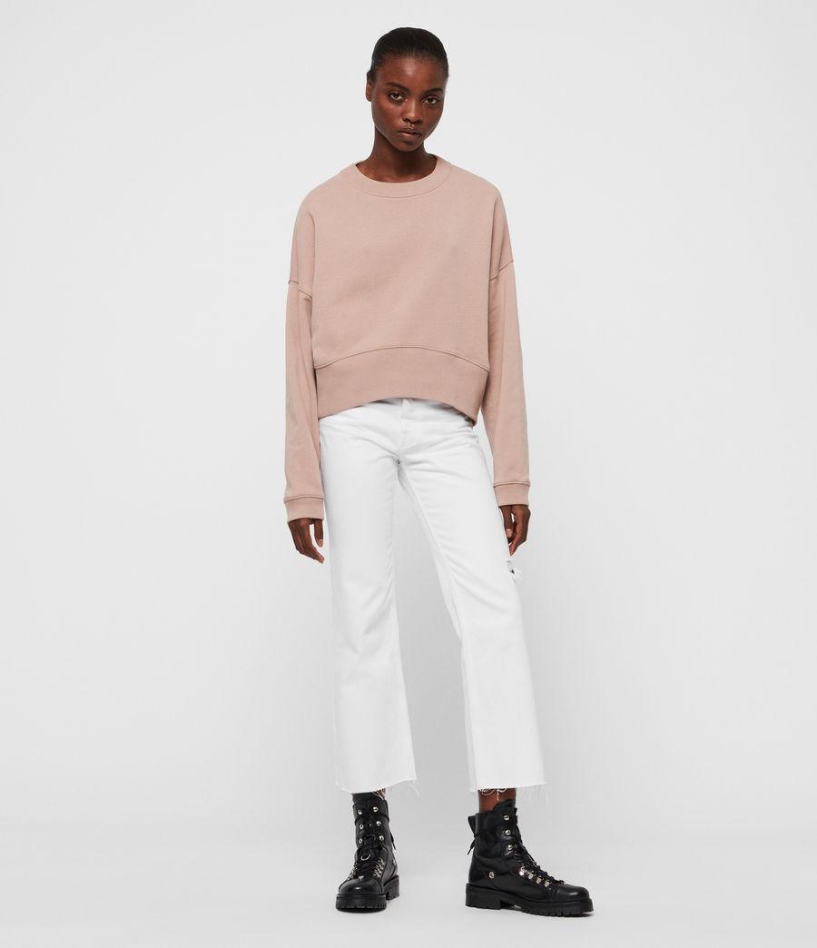 Womens Enrico Sweatshirt (nude_pink) - Image 2