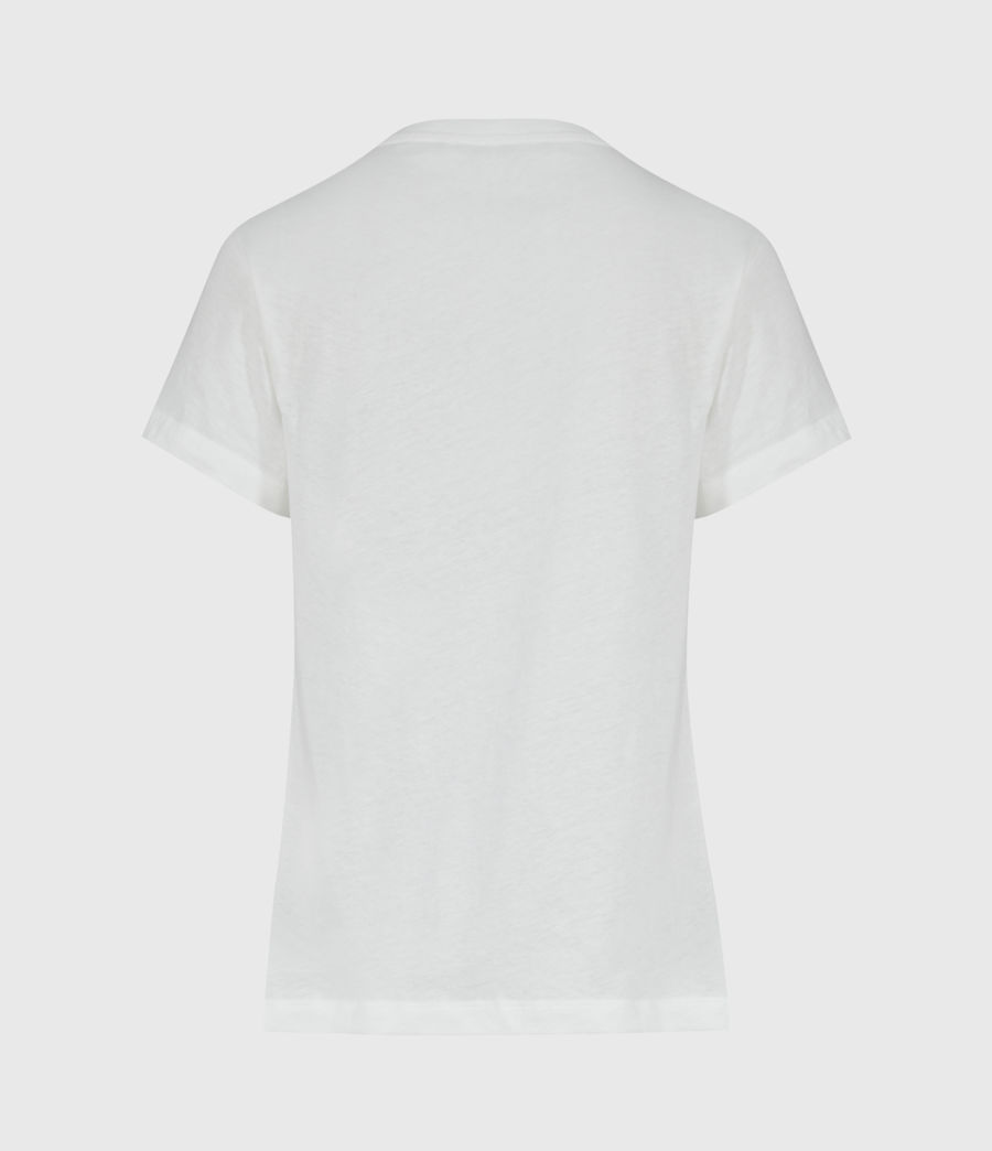 Women's Olivia Knot T-Shirt (chalk_white) - Image 2