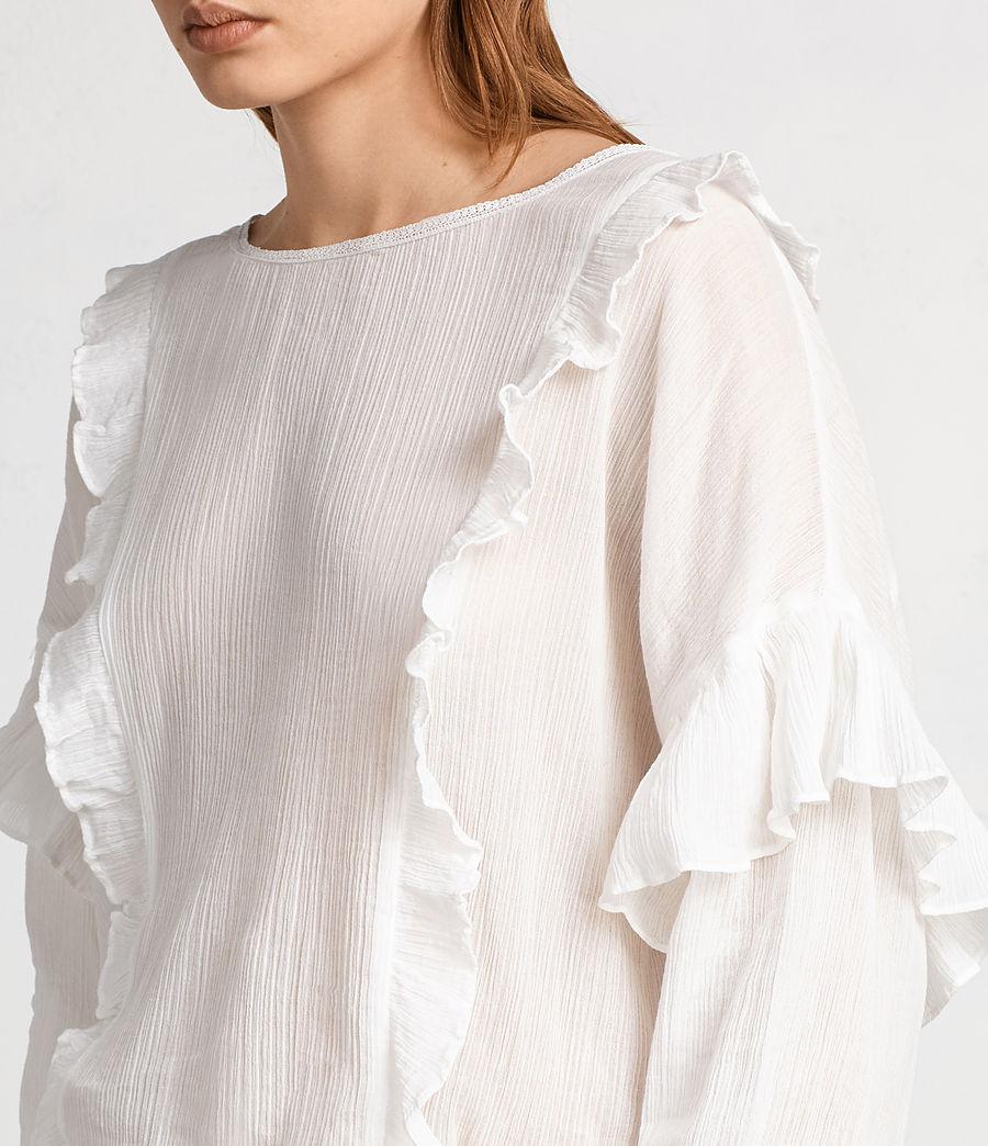 Damen Isa Top (chalk_white) - Image 2