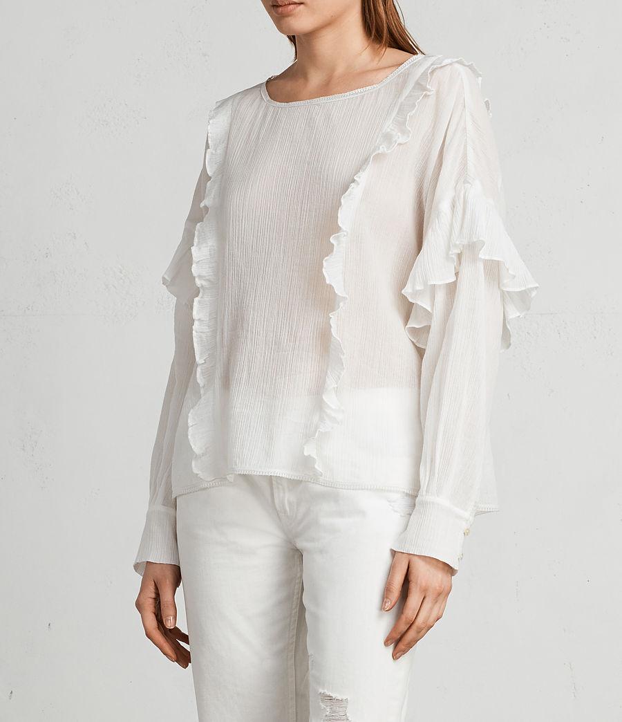 Damen Isa Top (chalk_white) - Image 3