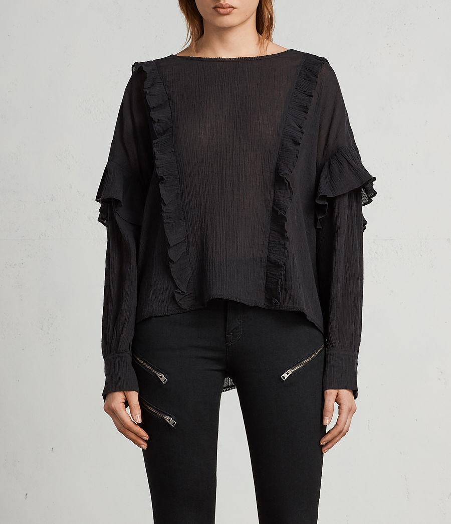 Mujer Top Isa (black) - Image 1