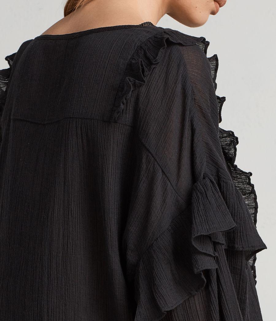 Mujer Top Isa (black) - Image 2