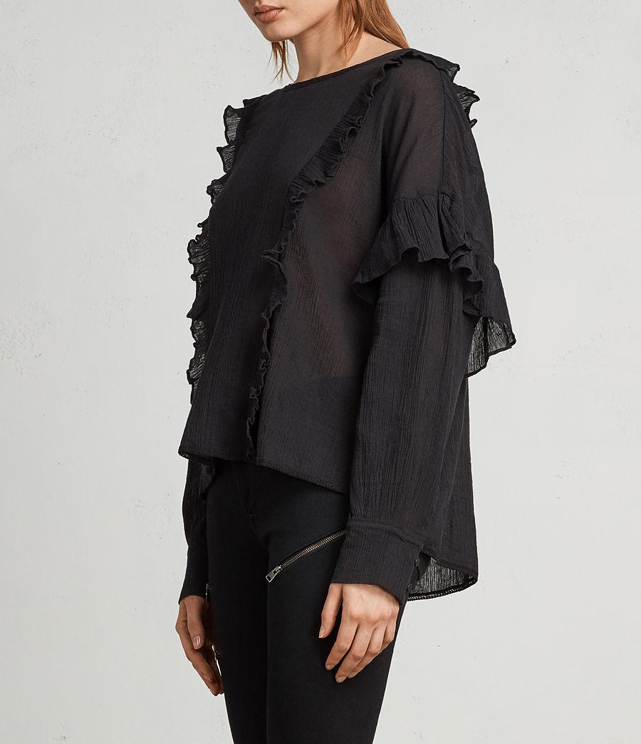 Mujer Top Isa (black) - Image 3