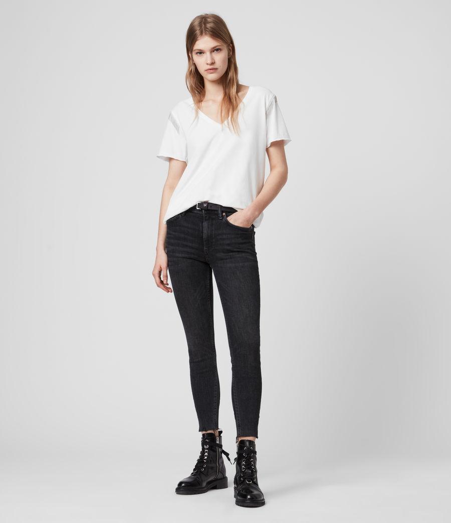 Womens Emelyn Chain T-Shirt (chalk_white) - Image 3