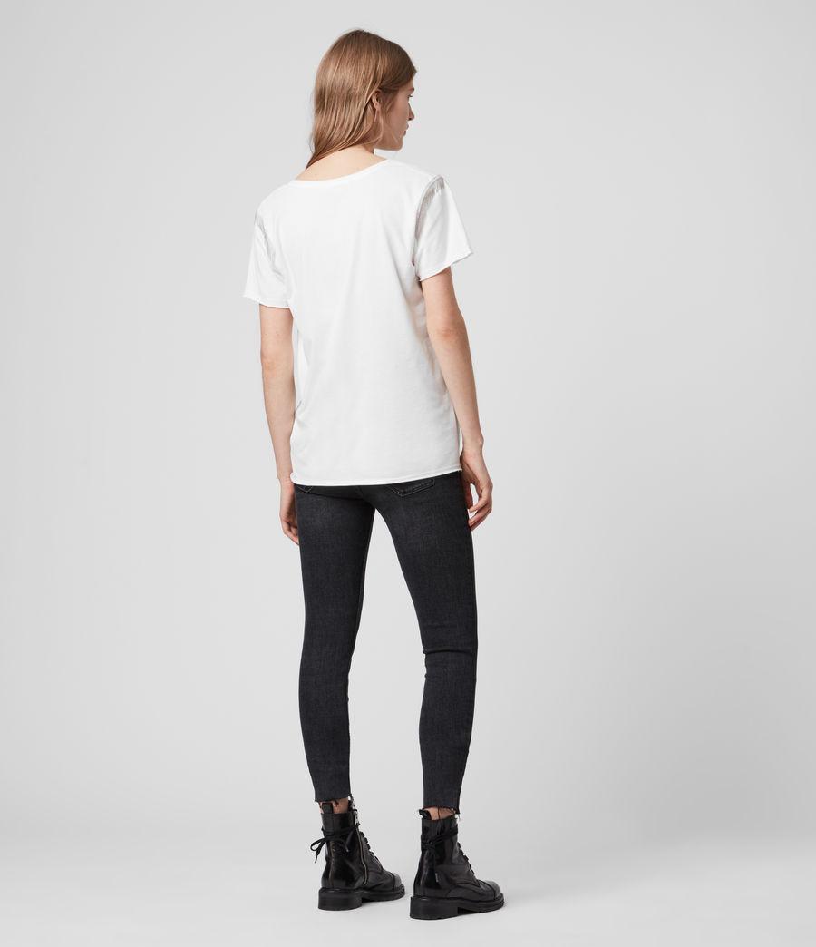 Womens Emelyn Chain T-Shirt (chalk_white) - Image 5