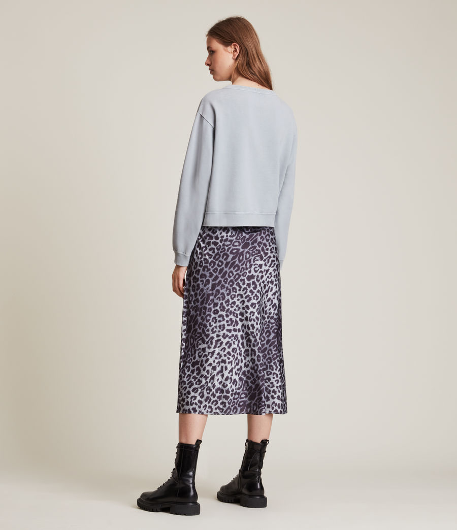 Women's Pippa Embroidered Sweatshirt (thunder_grey) - Image 4